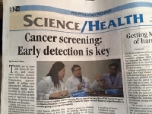 Cancer Screening: Early Detection is Key